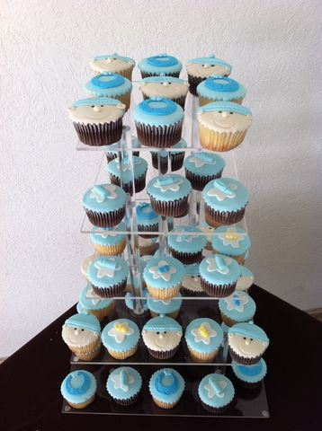 Cupcakes Baby Shower Niño